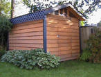 Use storage shed plans to make your own garden shed
