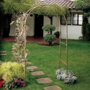 Classic copper arbor that weathers nicely