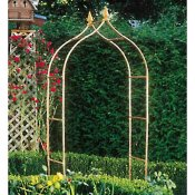 Interesting copper arbor with nice accents
