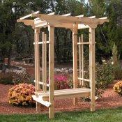 pergola bench plans