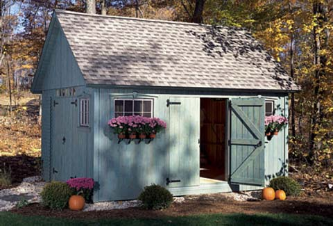 information on different garden shed designs - Garden Sheds With A Difference