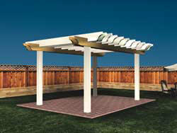 timber pergola construction