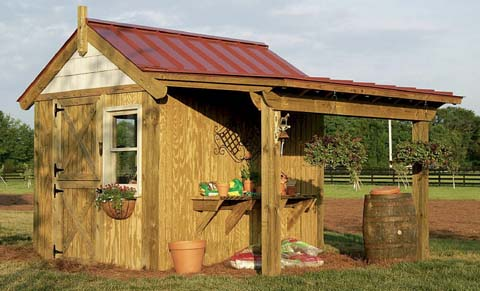 Picture of the perfect potting shed
